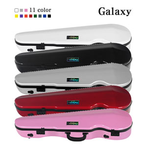 [GALAXY CASE] 갤럭시 카본 쉐이프 삼각 바이올린 케이스 11 COLOR / CARBONATE SHAPED VIOLIN CASES