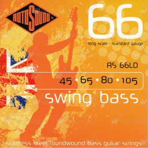 [ROTOSOUND] 로토사운드 베이스기타현 SWING BASS - RS66LD (045-105) / Stainless Steel Roundwound Standard