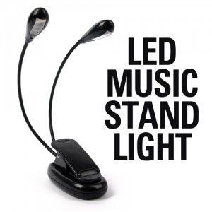 LED 스탠드 라이트 / MUSIC STAND LIGHT